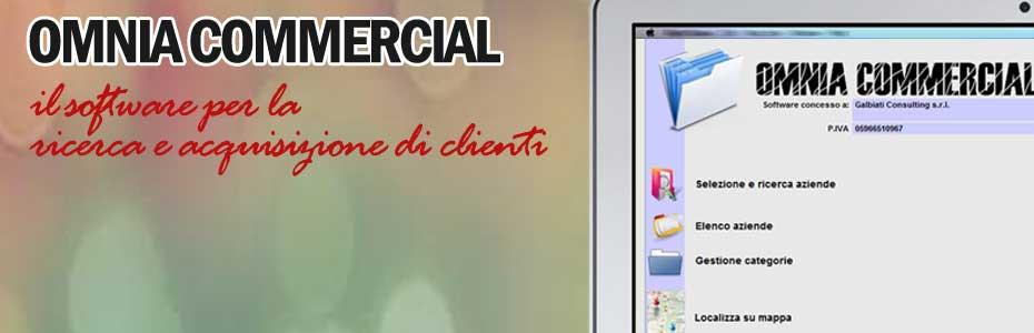 Omnia Commercial il software per l'acquisizione di clienti